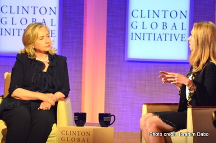 Chelsea Clinton interview Hillary Clinton