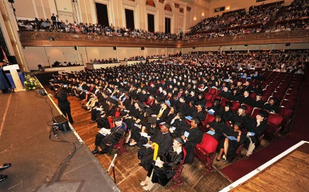 Ib speaks at University of Baltimore Commencement