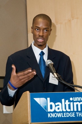 Ib speaks at University of Baltimore Scholarship Luncheon Celebration